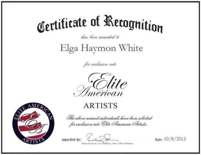 Elga Haymon White