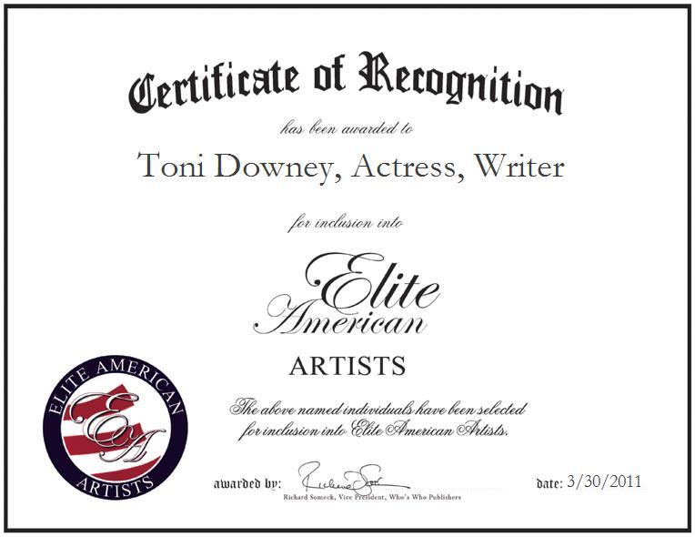 Toni Downey